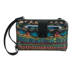 Women's Sakroots Artist Circle Large Smartphone Crossbody Radiant One World