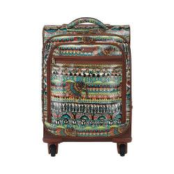 Women's Sakroots Artist Circle Spinner Carry On Natural One World