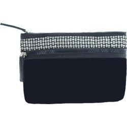 Women's Bernie Mev BM02 Small Cosmetic Bag Black Neoprene/Black Reflective