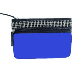 Women's Bernie Mev BM02 Small Cosmetic Bag Blue Neoprene/Black Reflective