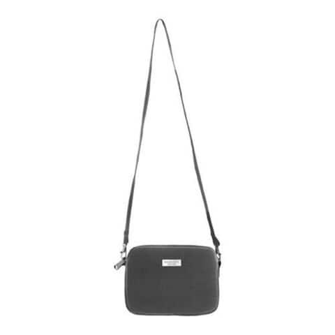 Women's Bernie Mev BM37 Crossbody Tablet Case Black Neoprene/Black