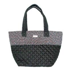Women's Bernie Mev BM28 Double Handle Tote Black Quilted/Endure