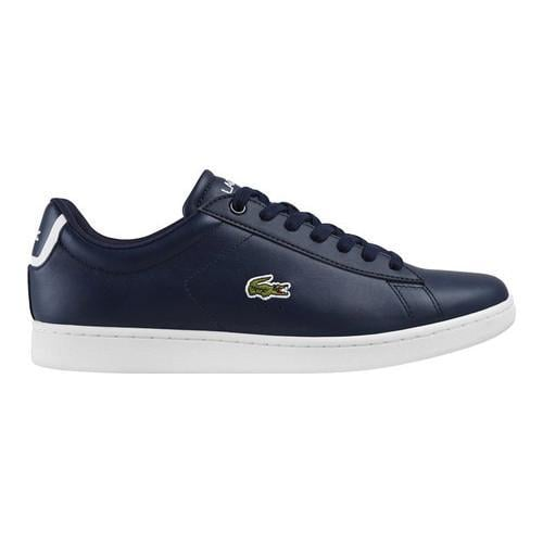 05d51be31d06 Shop Men s Lacoste Carnaby EVO BL 1 Sneaker Navy Leather Synthetic - On Sale  - Free Shipping Today - Overstock.com - 16300508