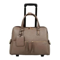 Mellow World Dayna Carry-On Laptop Roller Bag Large Mocha