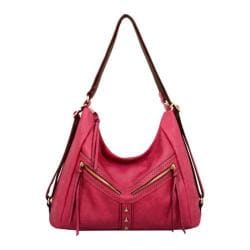 Women's Mellow World Jackie Convertible Hobo and Backpack Medium Fuchsia