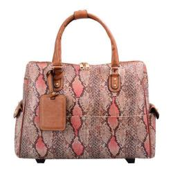 Women's Mellow World Rogue Carry-On Laptop Roller Bag Large Salmon