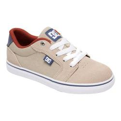 Boys' DC Shoes Anvil Skate Shoe Tan