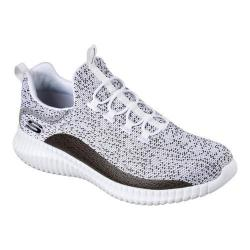 Men's Skechers Elite Flex Muzzin Bungee Lace Shoe White/Black