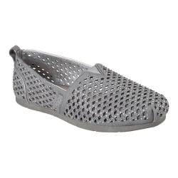 Shop Women S Skechers Luxe Bobs Girlsquad Alpargata Gray