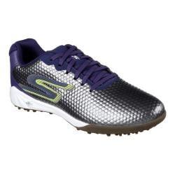 Men's Skechers Performance Soccer Hexgo Turf Shoe Charcoal