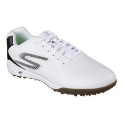Men's Skechers Performance Soccer Hexgo Turf Shoe White/Black