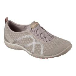 Women's Skechers Relaxed Fit Breathe Easy Fortune-Knit Slip-On Taupe
