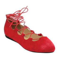 Women's Westbuitti Nina-3 Strappy Flat Red