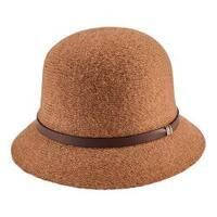 Women's San Diego Hat Company Knit Cloche CTH8068 Camel