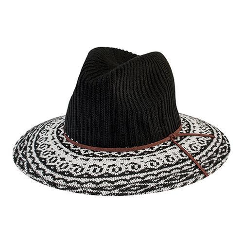 Shop Women s San Diego Hat Company Knit Pattern Fedora CTH8076 Black - Free  Shipping On Orders Over  45 - Overstock - 16331739 e04990aaeb6d