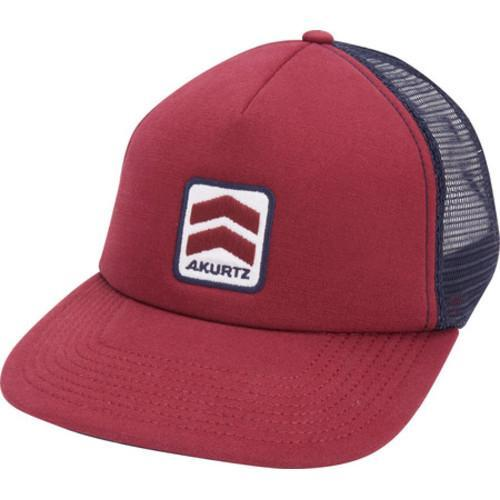 Shop Men s A Kurtz Foam Front Chevron Trucker Baseball Cap Wine - Free  Shipping On Orders Over  45 - Overstock.com - 16345382 58ad41eb864a