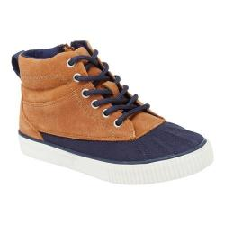 Boys' Hanna Andersson Kelby Duck Boot Tan Suede/Waxed Canvas
