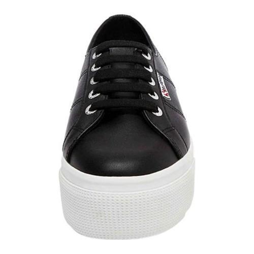0312b8e1f9e3 ... Thumbnail Women  x27 s Superga 2790 FGLW Platform Sneaker Black Leather