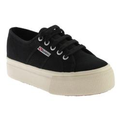 Women's Superga 2790 Acotw Linea Up And Down Black