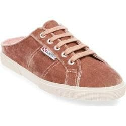 Women's Superga 2288 Velvet Mule Blush Velvet