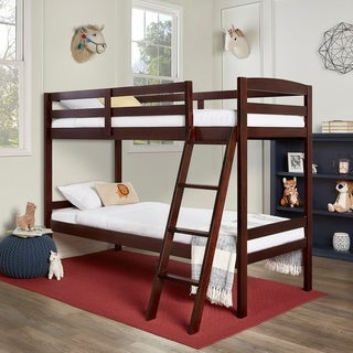 Dream On Me Logan Twin Over Twin Bunk Bed
