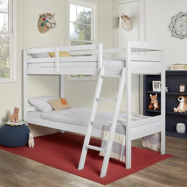 Shop Dream On Me Taylor Twin Over Twin Bunk Bed - Free Shipping ...