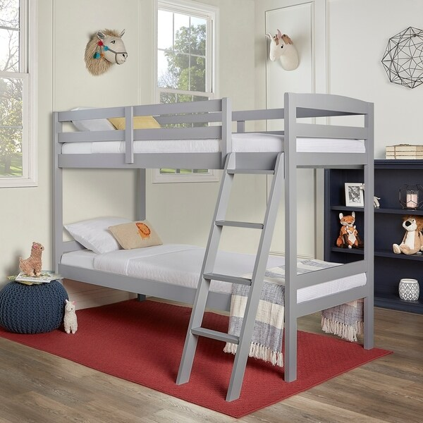 Dream On Me Taylor Twin Over Twin Bunk Bed. Opens flyout.