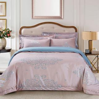 Jacquard Traditional 6-piece Duvet Cover Set by Dolce Mela
