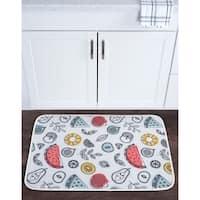 Alise Lexi Home Novelty Non-Slip Comfort Mat - Multi-color - 2' x 3'