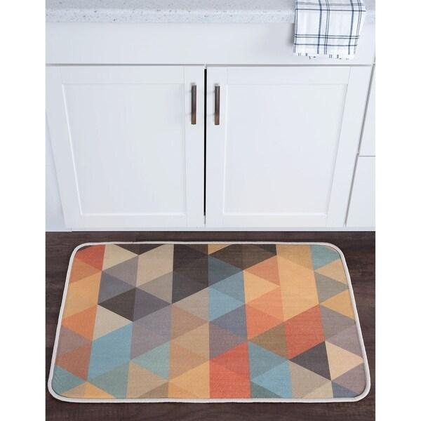 Alise Lexi Home Contemporary Non-Slip Comfort Mat (2' x 3') - 2' x 3'
