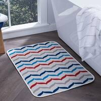 Alise Lexi Home Transitional Non-Slip Comfort Mat - Multi-color - 2' x 3'