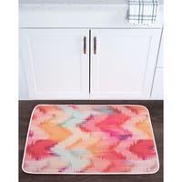Alise Lexi Home Contemporary Non-Slip Comfort Mat - Multi-color - 2' x 3'