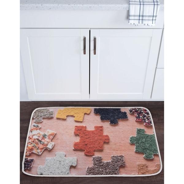 Alise Lexi Home Novelty Non-Slip Comfort Mat (2' x 3') - 2' x 3'