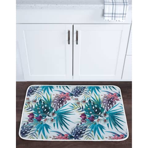 Alise Lexi Home Transitional Non-Slip Comfort Mat - Multi-color - 1'8 x 2'6
