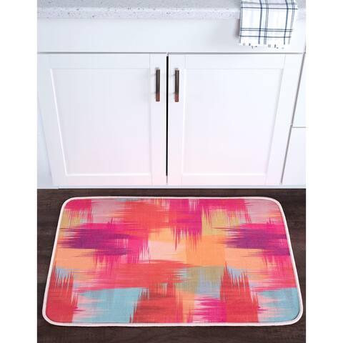 Alise Lexi Home Contemporary Non-Slip Comfort Mat - Multi-color - 1'8 x 2'6