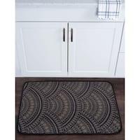 Alise Lexi Home Transitional Non-Slip Comfort Mat (20''x 30'') - 1'8 x 2'6