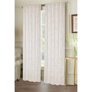 "Bird Rod Pocket Window Curtain Panel Pair - 84""x76"""