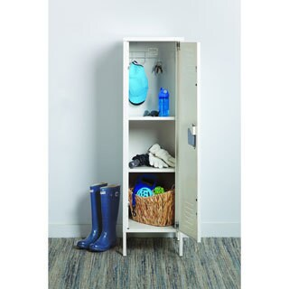 "Space Solutions Personal Storage Locker, 54"" x 15"" x 15"" - White"
