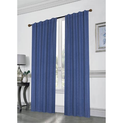 "Seventh Avenue Blackout Extra Long Window Curtain Panel Pair - 96""x76"""