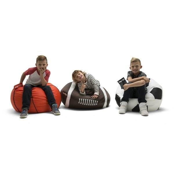 Excellent Big Joe Football Bean Bag Chair Alphanode Cool Chair Designs And Ideas Alphanodeonline