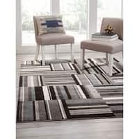Greyson Living Jadie Black/Grey/Multi Area Rug (7'10 x 10')