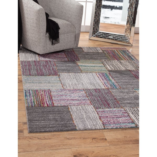 Shop Jadie Multi Color Area Rug By Greyson Living Multi 7 10 X