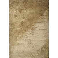 Brilliance Beige Shag Area Rug by Greyson Living - 8' x 10'