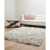 Brilliance Ivory Shag Area Rug by Greyson Living - 8' x 10'