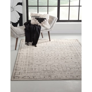 """Channing Grey/Charcoal/Ivory Area Rug by Greyson Living - 5'3"""" x 7'9"""""""