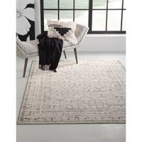 Channing Grey/Charcoal/Ivory Area Rug by Greyson Living - 5'3 x 7'6