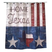 Home Sweet Texas Shower Curtain
