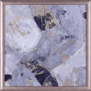 19.5X19.5 Global II, framed paper wall art