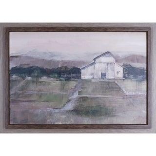 28X40 Rural sunset I, framed paper wall art