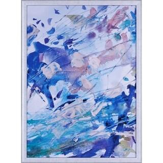 21.5X29.5 Colorsplash I, framed paper wall art